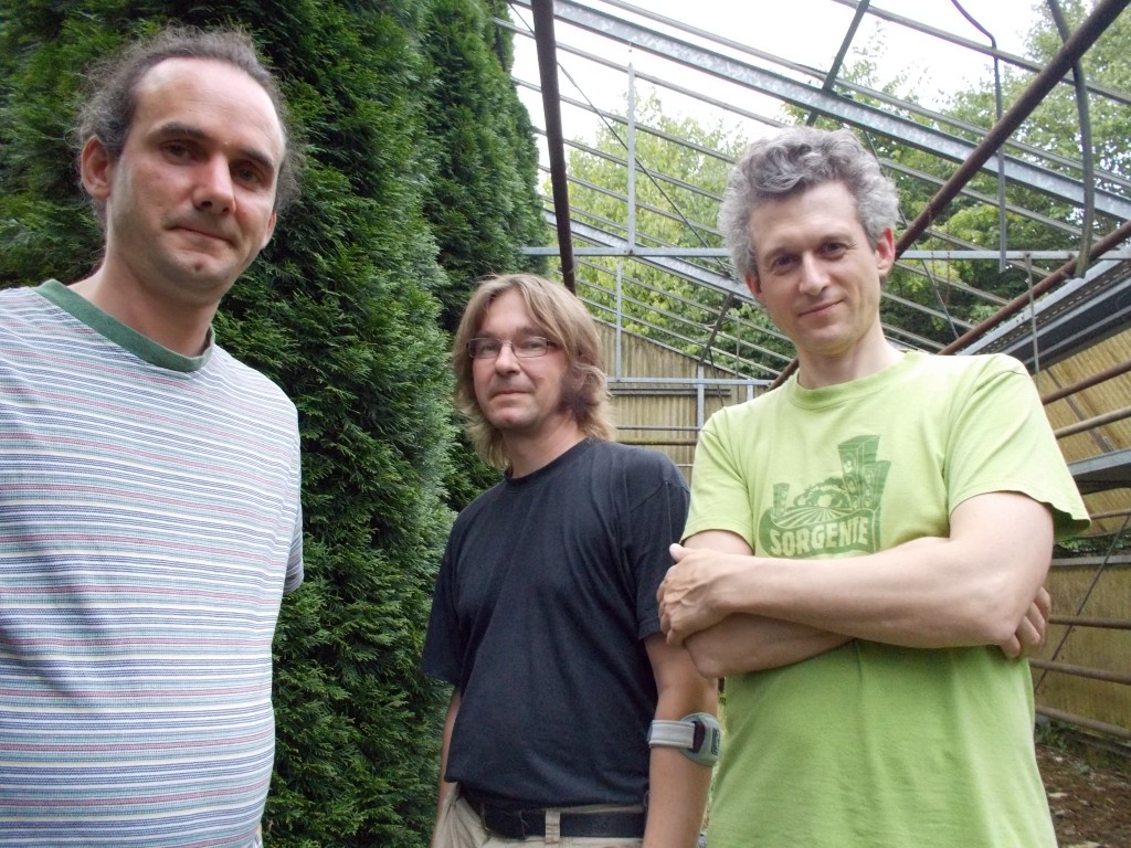 Tobias Krug, Niklas Olschewsky, Brian Cranford