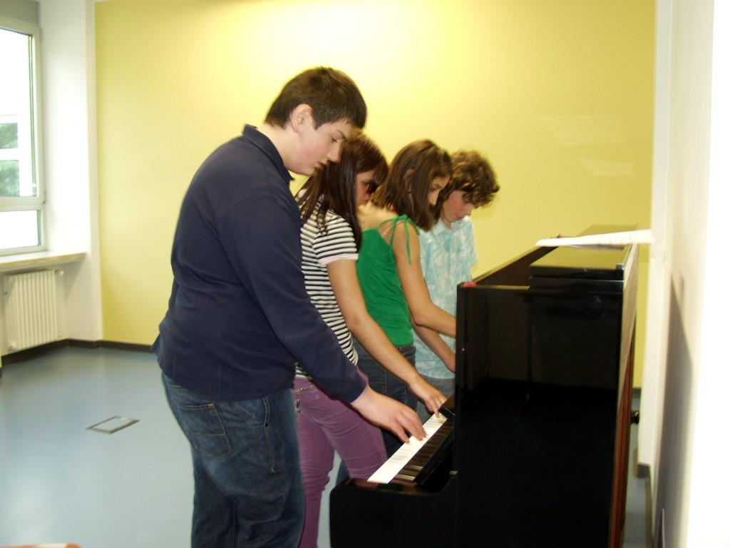 Schulprojekt Planetenmusik